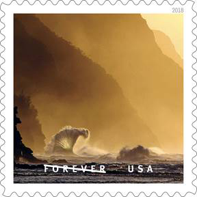 USPS Na Pali Coast Forever Stamp
