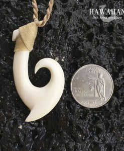 signature wave hook necklace