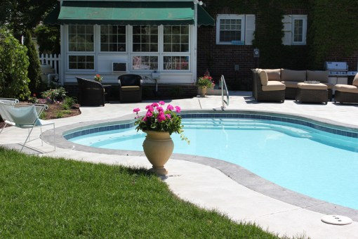 Residential - Pool with Lawn Furniture