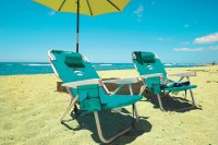 Oahu beach chair rental | Folding chairs | Hawaii Beach Time