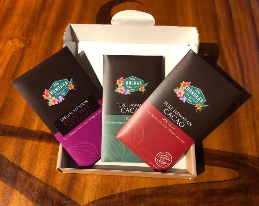 Honokaʻa Chocolate Co. Bars, 3 pack
