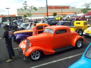 Paula Rodrigues' 1934 Ford Coupe & 1939 Ford Coupe