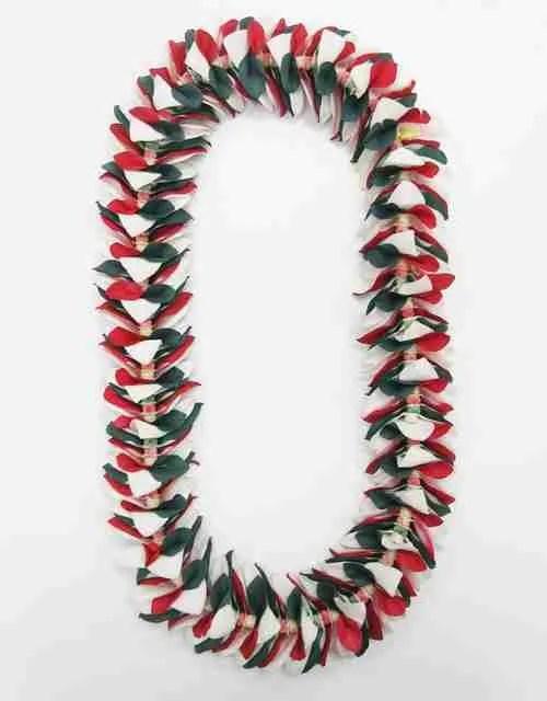Christmas Leis : christmas, Fresh, Hawaiian, Orchid, Loose, Blooms
