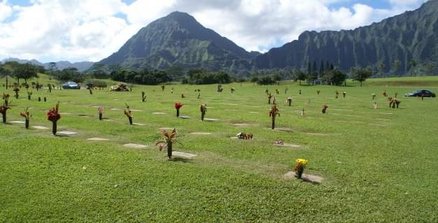 Hawaii State Veterans Cemetery Ua-Voss