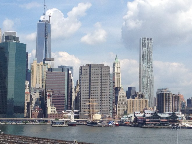 View from the Brooklyn Heights Promenade