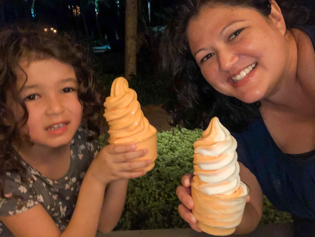 Pumpkin Favored Dole Whip at Aulani
