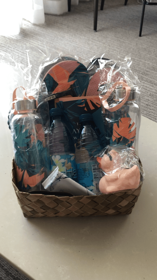 Welcome Basket from the Laylow