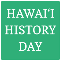 Hawaii History Day Square Logo