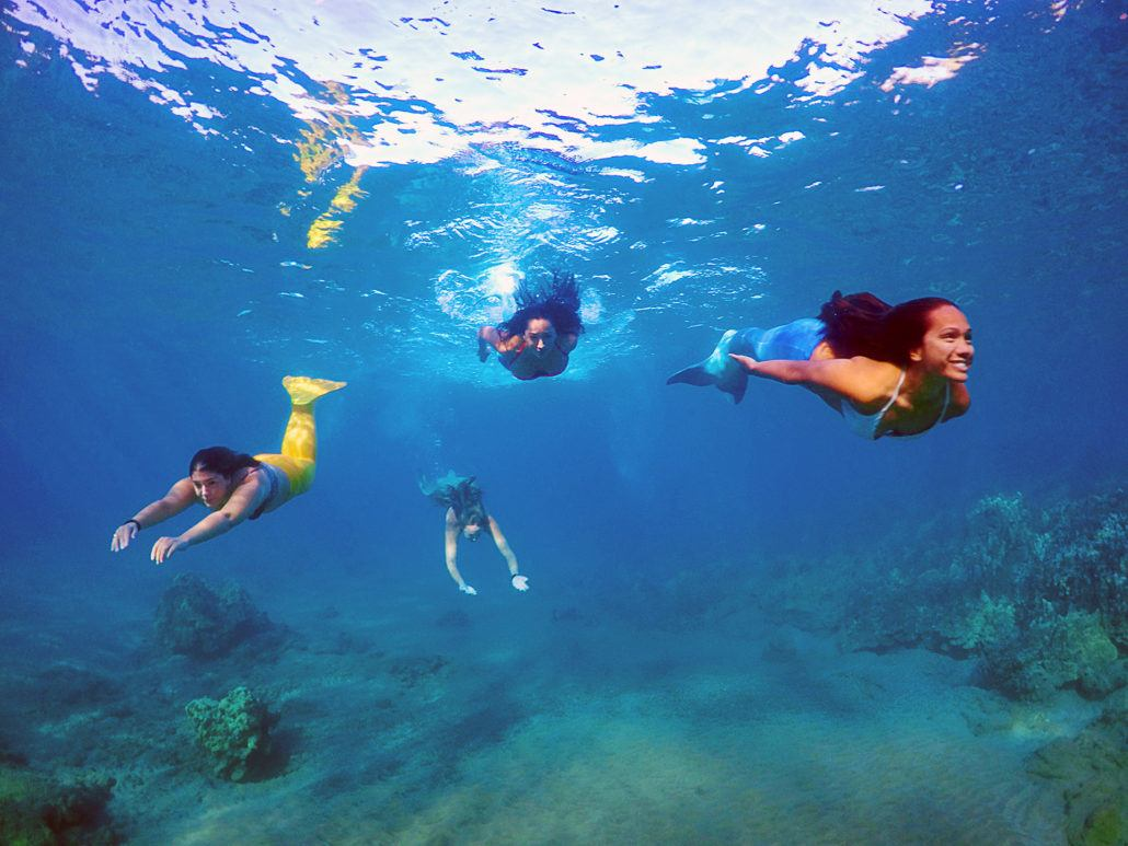 hawaii mermaids pop up at maui mall hawaii mermaid adventures