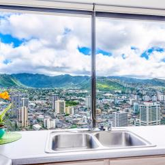 Hotels With Kitchens In Waikiki Kitchen Table Lighting Hawaiian Monarch  Penthouse 104 2bed Hawaii Ocean