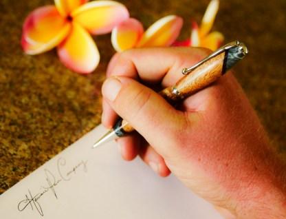 Soft Pen Koa Wood