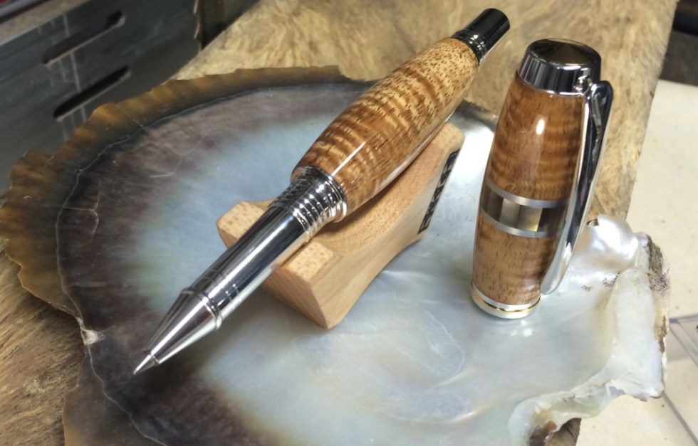Hawaiian Wood Pen