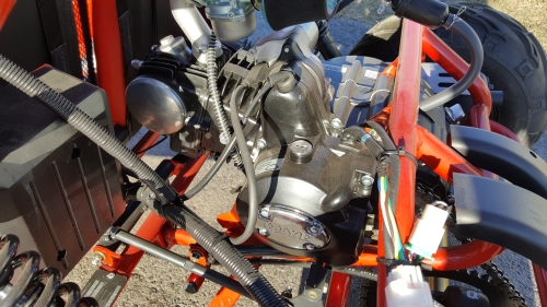 Coolster GK-6125 GoKart Automatic 125cc 2-Seater Engine