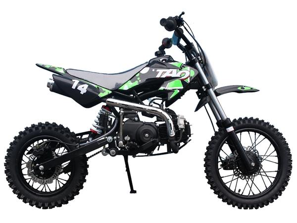 TAO Motor DB14 110cc Semi-Automatic Dirt Bike for Kids