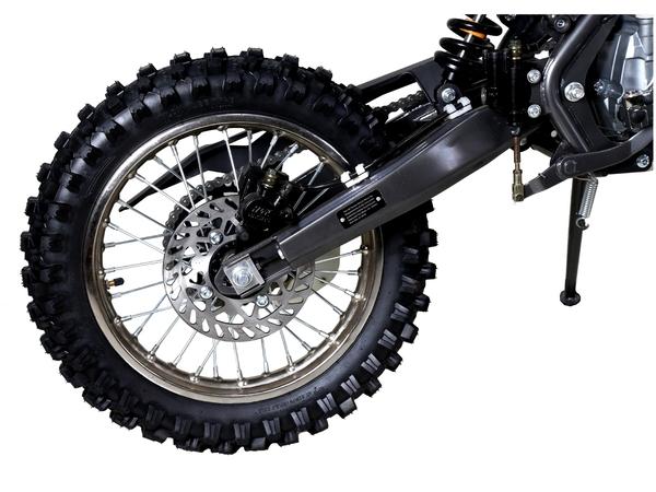 Tao Motor DB27 Dirt Bike rear wheel and swingarm