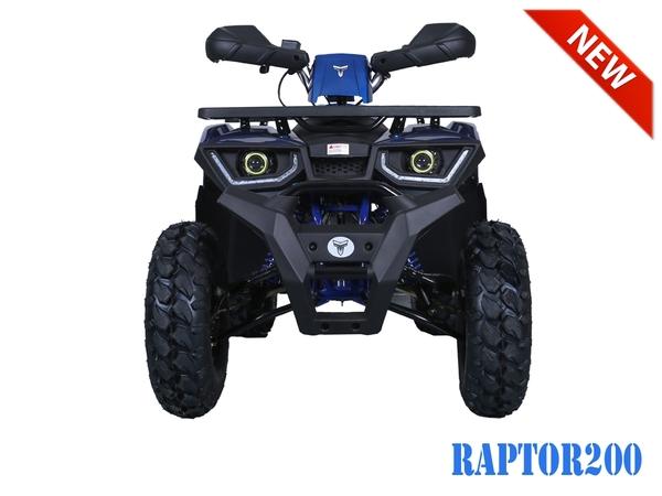 Tao Motor RAPTOR200 ATV by Hawaii Powersports