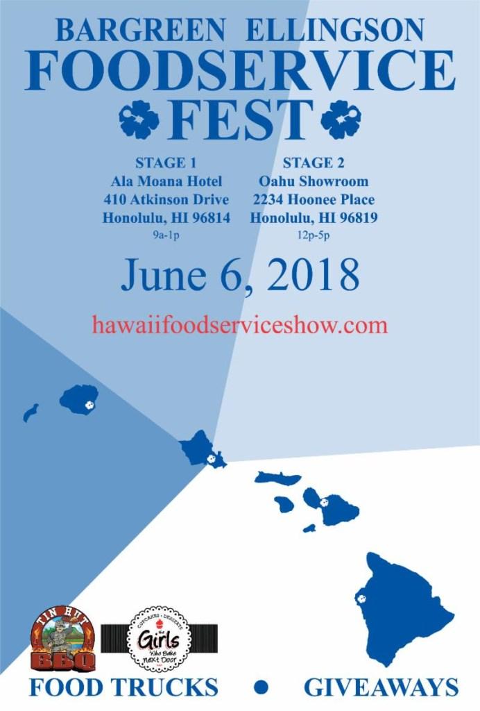 BARGREEN ELLINGSON - 2018 Hawaii Foodservice Show - Hawaii
