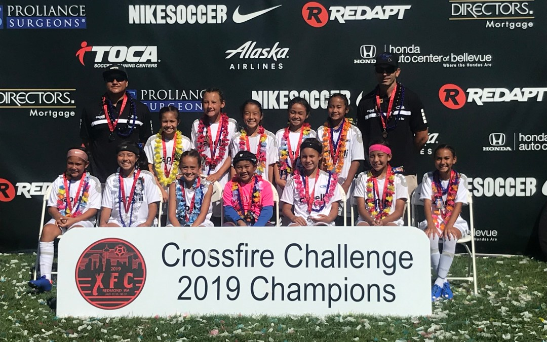 Rush 2008 Girls – Crossfire Challenge Finalists – Redmond, WA