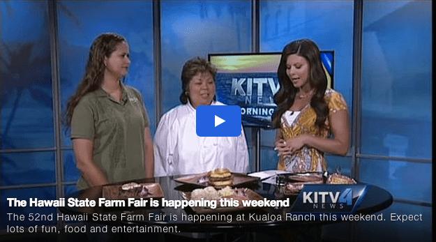 The Hawaii State Farm Fair is happening this weekend via KITV4 News (@kitv4) #farmfair2014