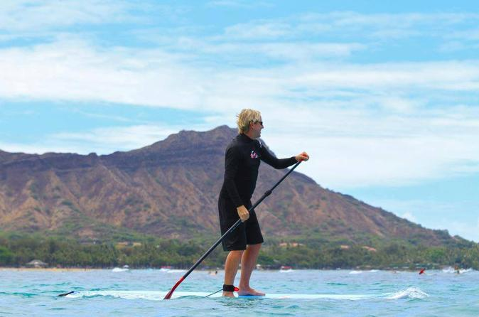 2-Hour Private Stand-Up-Paddleboard Experience on Oahu
