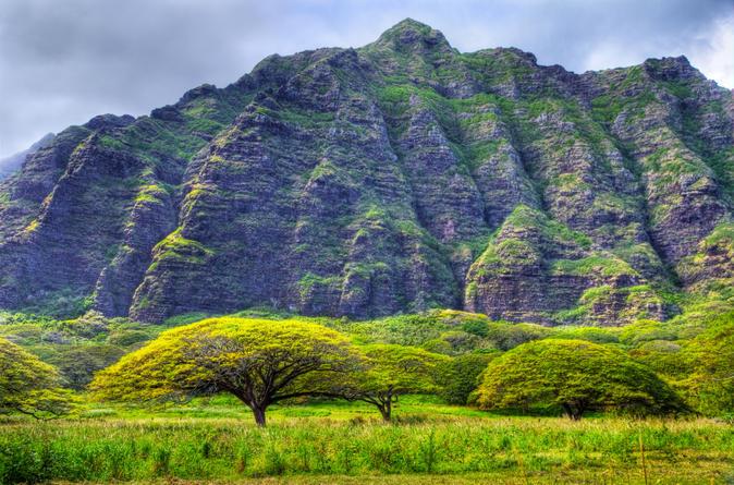 Dirt Mountain Biking in Kaaawa Valley on Oahu