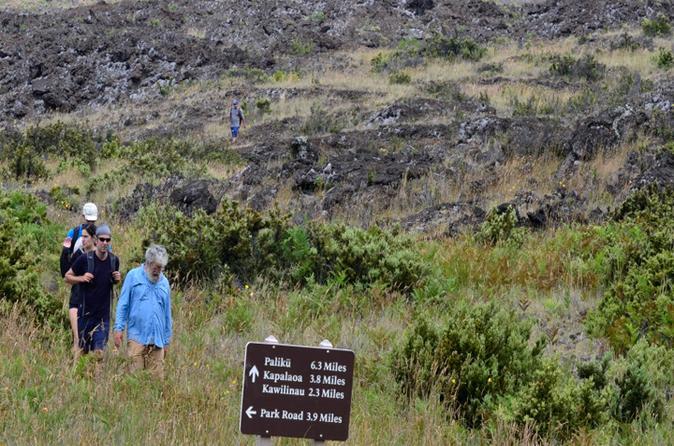 Hiking at Haleakala National Park 6 Mile Challenge on Maui