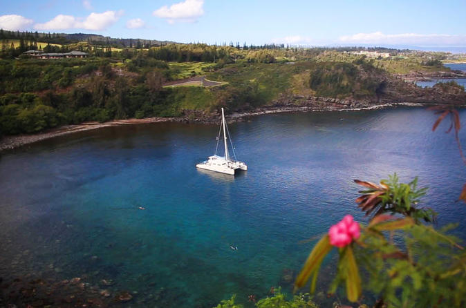 Honolua Bay Snorkel Sail on Maui
