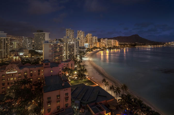 Honolulu City Lights - 30 Min Helicopter Tour - Doors Off or On on Oahu