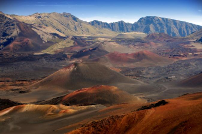 Kahului Shore Excursion: Haleakala Crater Adventure Tour on Maui
