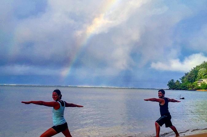 Kauai Yoga On the Beach on Kauai