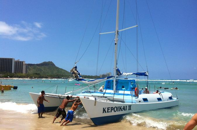 Kepoikai Catamaran Charter on Oahu