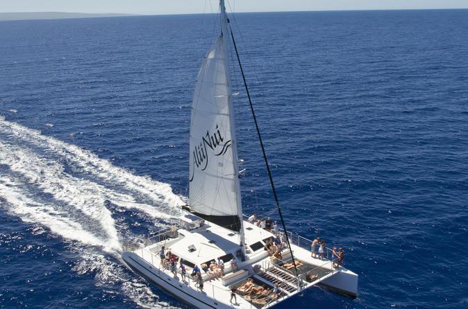 Luxury Molokini Deluxe Snorkel Sail on Maui