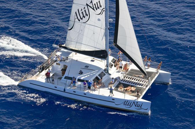 Luxury Turtle Point Morning Snorkel Sail on Maui