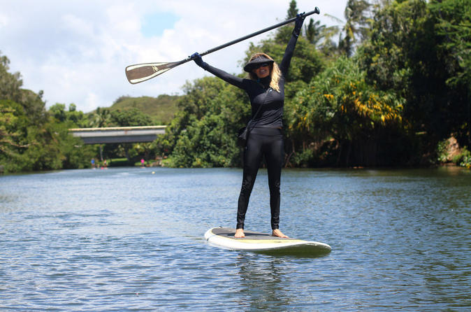 North Shore Stand-Up Paddleboard Lesson on Oahu