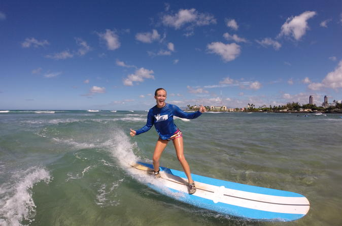 Private Surfing or Stand-Up Paddleboard Lesson on Oahu