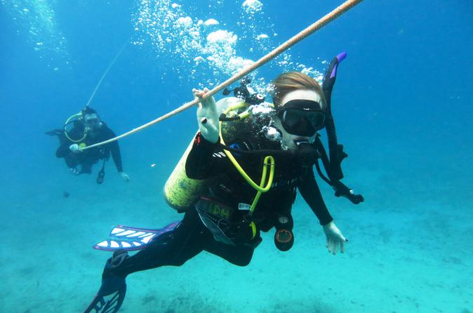 Open Water Scuba Certification on Oahu