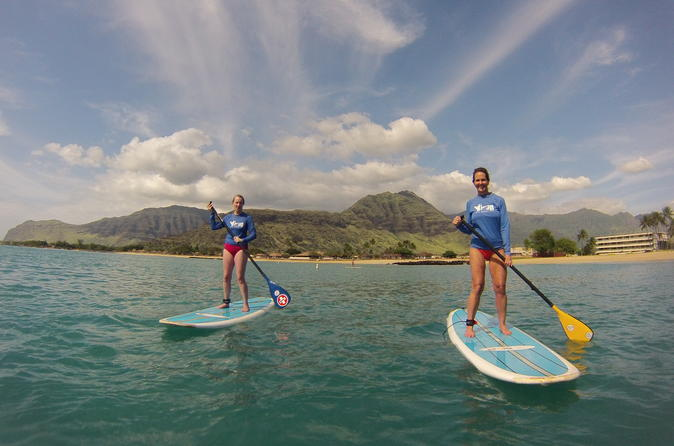 Pokai Bay Stand-up Paddleboard Lesson on Oahu