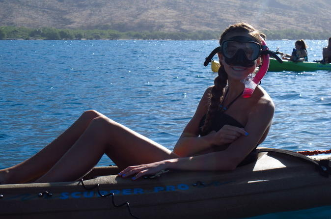 Single Kayak Rental on Maui