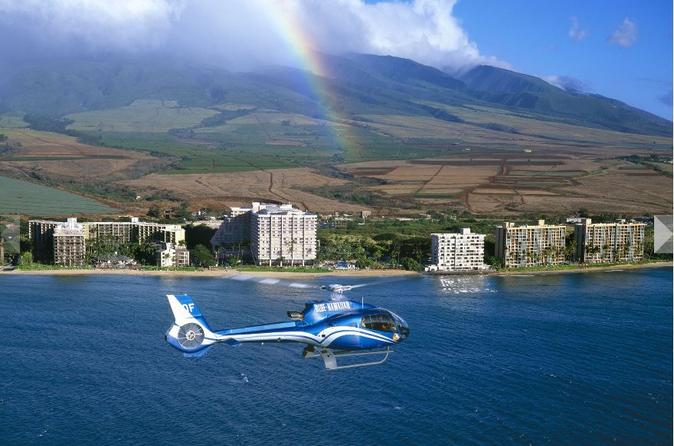 Small-Group Road to Hana Luxury Tour and Helicopter Flight on Maui