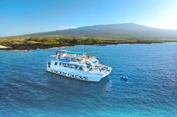 Snorkel Dolphin Adventure aboard Luxury Catamaran on Hawaii