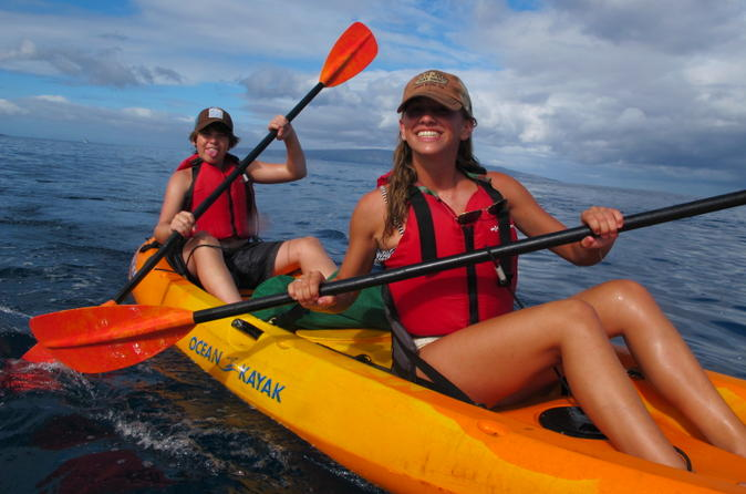 South Maui Kayak and Snorkel Tour with Turtles on Maui