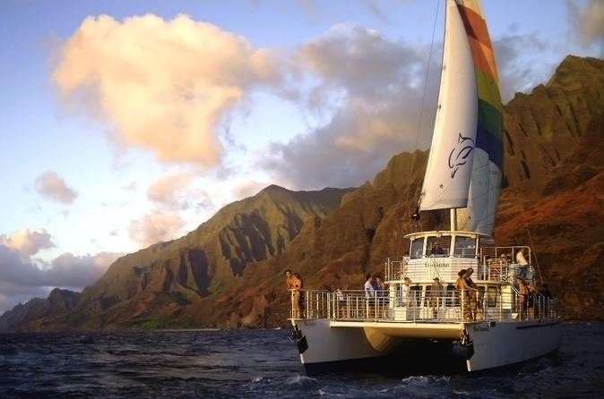 Sunset Dinner Cruise Off The Na Pali Coast on Kauai