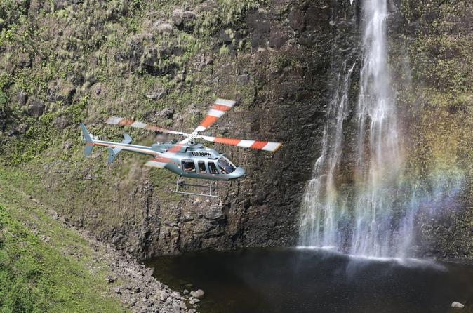 Waterfall Heli-Trek: Big Island Helicopter Tour and Hiking Adventure on Hawaii