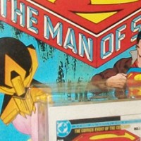 The Man of Steel comic and audio cassette #1 (1989)