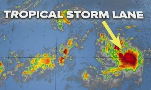 Tropical Storm Lane