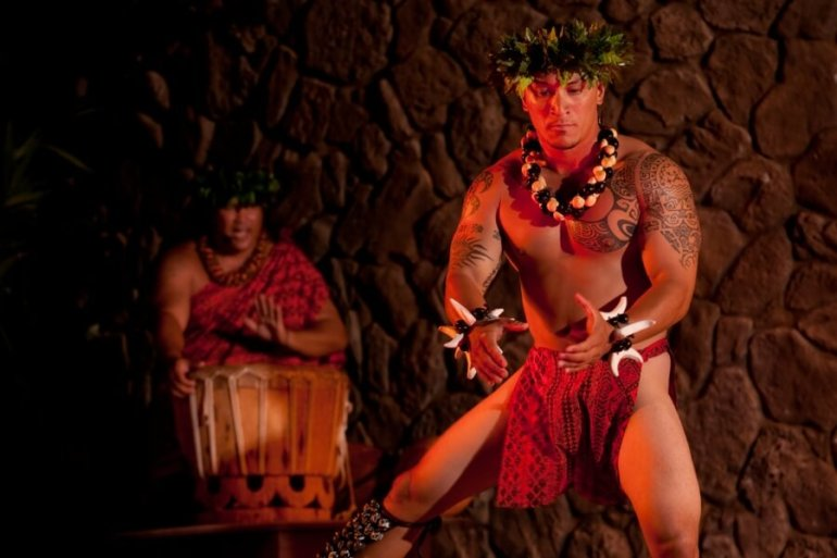 The Best Luau in Maui featured by top Hawaii travel blog, Hawaii Travel with Kids: The Grand Wailea Luau is one of the best luaus in Wailea Maui
