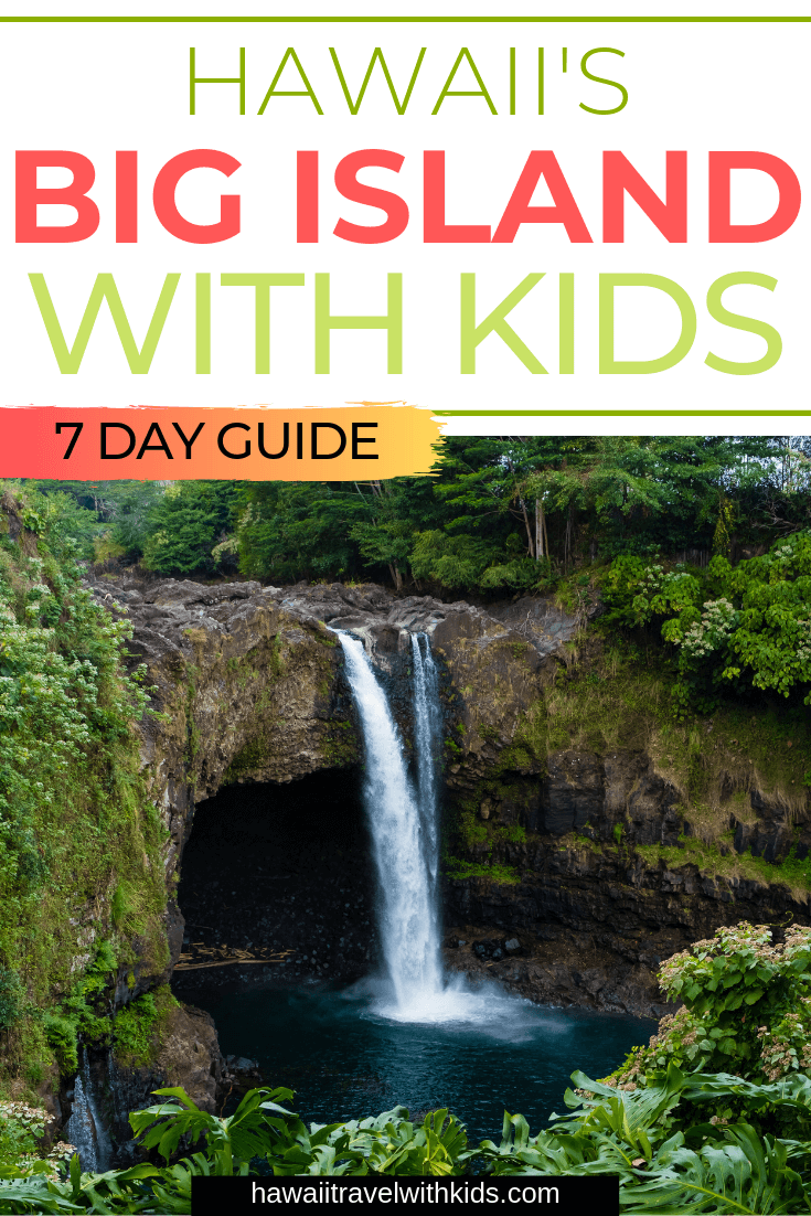 Everything you Need to Know About Traveling to Hawaii Big Island with Kids featured by top Hawaii travel blog, Hawaii Travel with Kids | Heading to Hawaii Big Island with kids? Find out all the best restaurants, places to stay, and kid-friendly activities.