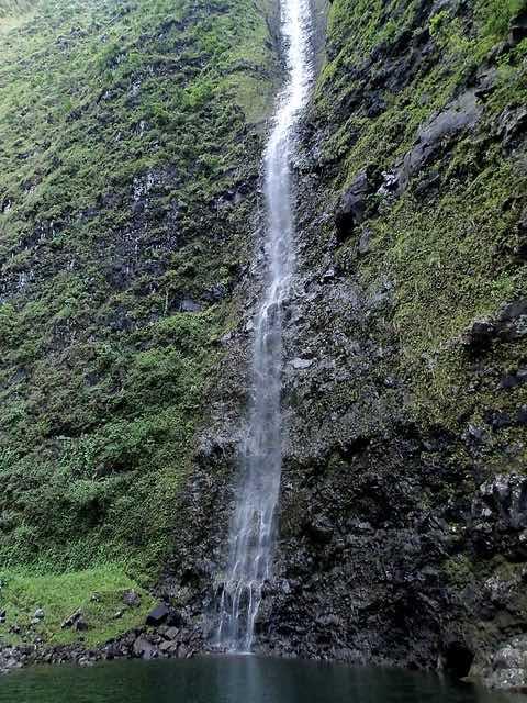 Top 11 Best Kauai Waterfalls you Should Visit featured by top Hawaii travel blog, Hawaii Travel with Kids: Hanakoa Falls is one of the best Kauai waterfalls
