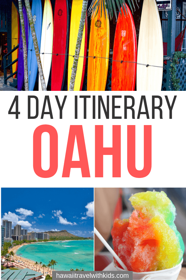 Make the most of your Hawaii vacation planning with this Oahu 4 day itinerary for families. See all the best things to do on Oahu!