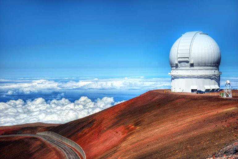 The Best Things to Do in Kona, Hawaii featured by top Hawaii blog, Hawaii Travel with Kids: Mauna Kea Observatories Hawaii taken in 2015